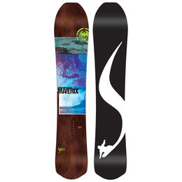 Never Summer Women's Maverix Light All-Mountain Snowboard '19