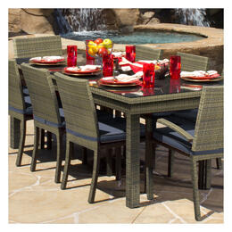 North Cape Cabo Willow Square Table 9-Piece Dining Set