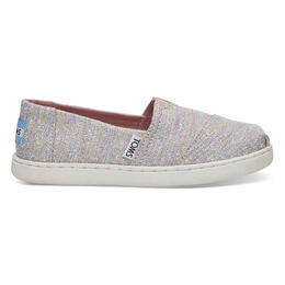 Toms Youth Girl's Alpargata Casual Shoes Pink Multi