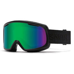 Smith Women's Riot Snow Goggles With Green Sol-X Mirror Lens