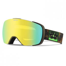 Giro Men's Contact Snow Goggles With Black Limo/Persimmon Blaze Lens
