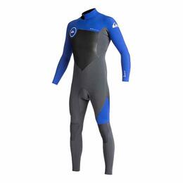 Quiksilver Men's 3/2mm Syncro Series - Back Zip GBS Wetsuit