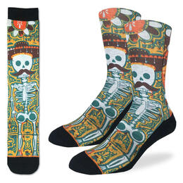 Good Luck Socks Men's Senor Bones Socks