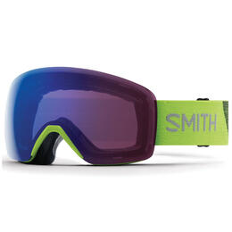 Smith Men's Skyline Asia Fit Snow Goggles With Chromapop Rose Flash Lens