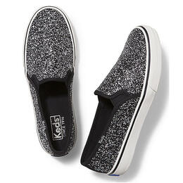 Keds Women's Double Decker Glitter Casual Shoes