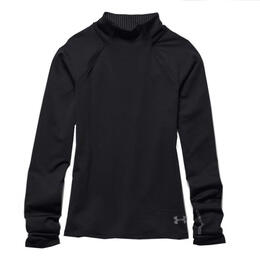 Under Armour Girl's ColdGear Infrared Mock Long Sleeve