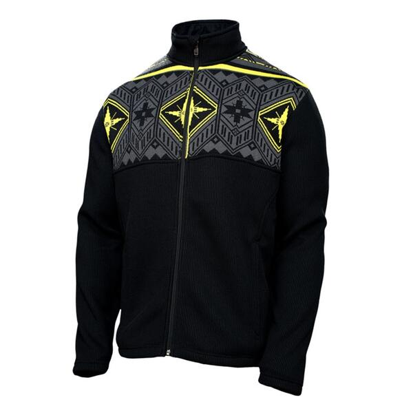 Spyder Men's Nordic Full Zip Sweater