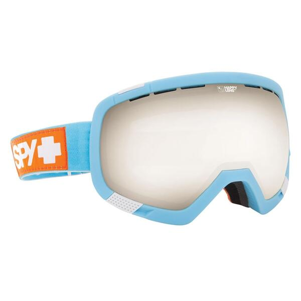 Spy Platoon Snow Goggles with Happy Bronze/Silver Mirror Lens