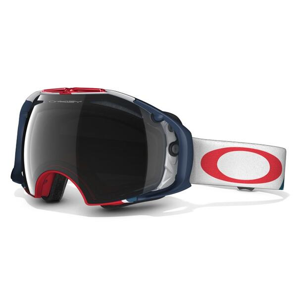 Oakley Airbrake Snow Goggles with Dark Grey/H.I. Persimmon Lenses