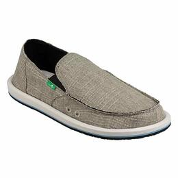 Sanuk Men's Vagabond Grain Slub Casual Shoes
