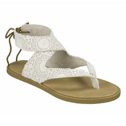 Sanuk Women's Yoga Mariposa Crochet Sandals