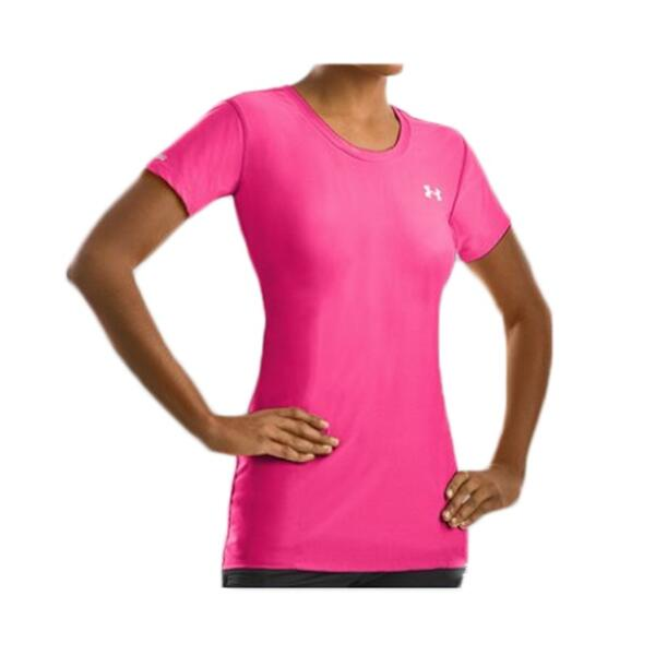 Under Armour Women's Heatgear Fitted Base Short Sleeve Shirt