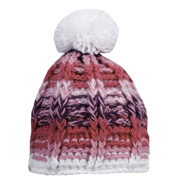 Spyder Toddler Girl's Bitsy Mosaic Knit Hat