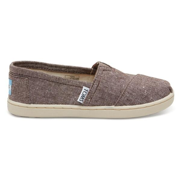 Toms Children's Chambray Classic Casual Shoes