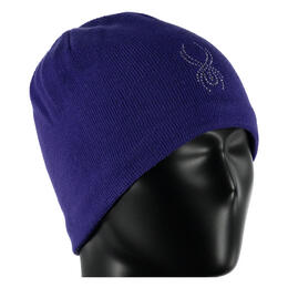 Spyder Girl's Shimmer Hat Purple