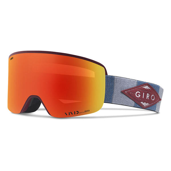Giro Axis Snow Goggles with Vivid Ember Lens