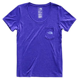 The North Face Women's Gradient Dreams Tri-blend Short Sleeve Pocket T-shirt
