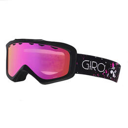 Giro Youth Grade Snow Goggles With Amber Pink Lens
