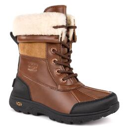 UGG® Children's Butte II Leather Apres Ski Boots