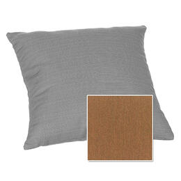 Casual Cushion Corp. 15x15 Throw Pillow - Canvas Teak
