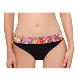 Profile By Gottex Women's Tropical Mirror Fold Over Bikini Bottom