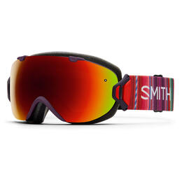 Smith Women's I/OS Snow Goggles With Red Sol-X Lens