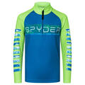 Spyder Boy's Peak Zip T Neck Shirt