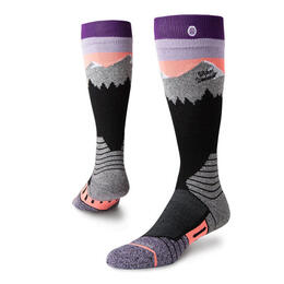 Stance Women's White Caps All Snow Socks Purple