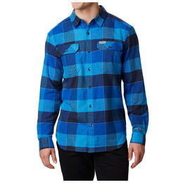 Columbia Men's Flare Gun Long Sleeve Flannel Shirt
