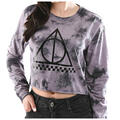 Vans Women's Deathly Hallows Crop Longsleev