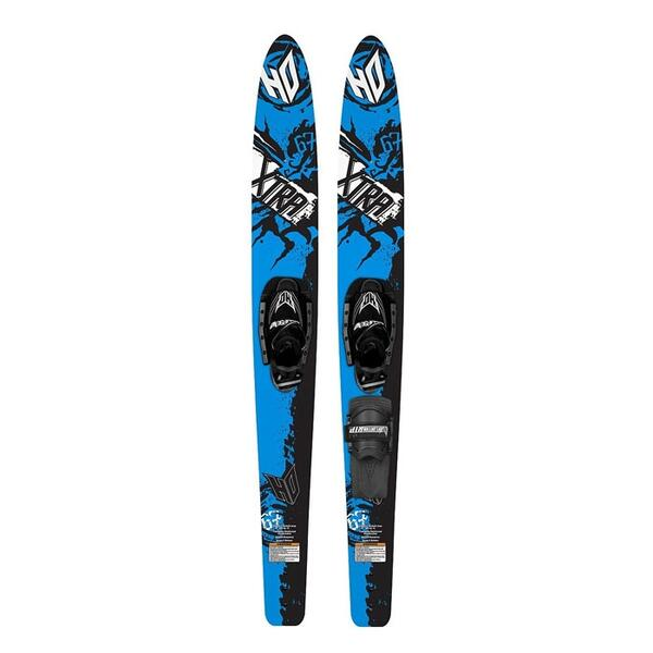 Ho Sports Xtra 67in Combo Water Skis With Contour Binding