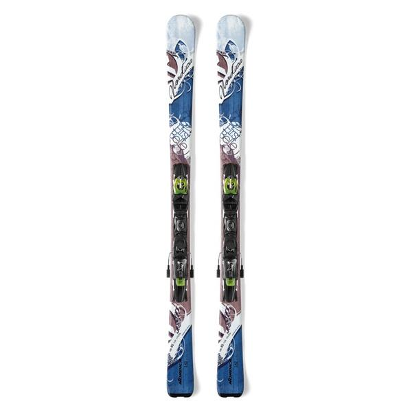 Nordica Women's First Belle All Mountain Skis with P.R. EVO Bindings '14