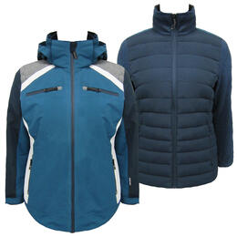 Avalanche Women's Petrol 3 In 1 System Jacket