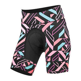 Shebeest Women's Petunia Compilation Cycling Shorts