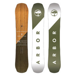 Arbor Men's Coda Rocker Wide Snowboard '17