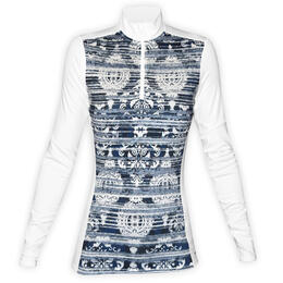 Hot Chilly's Women's MTF4000 Print Zip T Top