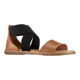 Sorel Women's Ella Mule Strap Casual Sandals Camel