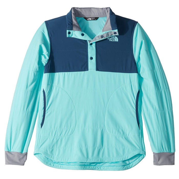 The North Face Girl's Mountain 1/4 Snap Swe