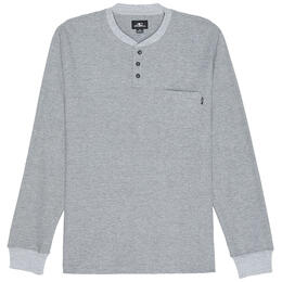 O'neill Men's Olympia Henley Long Sleeve Shirt