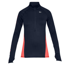 Under Armour Women's Coldgear Armour Graphic Half Zip Jacket
