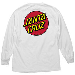 Santa Cruz Men's Classic Dot Long Sleeve T Shirt