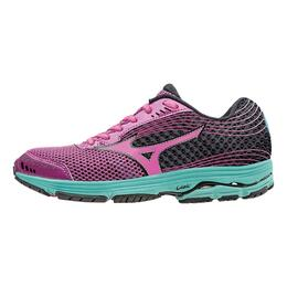 Mizuno Women's Wave Sayonara 3 Running Shoes Wild Aster/Electric/Black