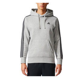 Adidas Men's Essentials 3S Brushed Fleece Hoodie