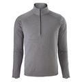 Patagonia Men's Capilene Midweight Zip-Neck Long Sleeve Top Grey