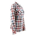 Love Stitch Women's Double Gauze Plaid Long