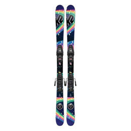 K2 Girl's Missy All Mountain Skis w/ FDT 7.0 Bindings '19