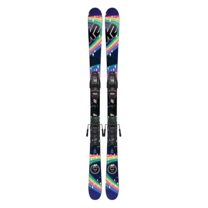K2 Girl's Missy All Mountain Skis w/ FDT 7.