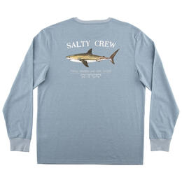 Salty Crew Men's Bruce Long Sleeve Tech Tee Shirt