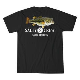 Salty Crew Men's Green Bass T-Shirt