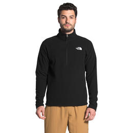 The North Face Men's Textured Cap Rock 1/4 Zip Fleece Pullover
